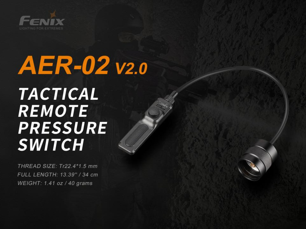 AER-02 V2.0 Tactical Remote Pressure Switch