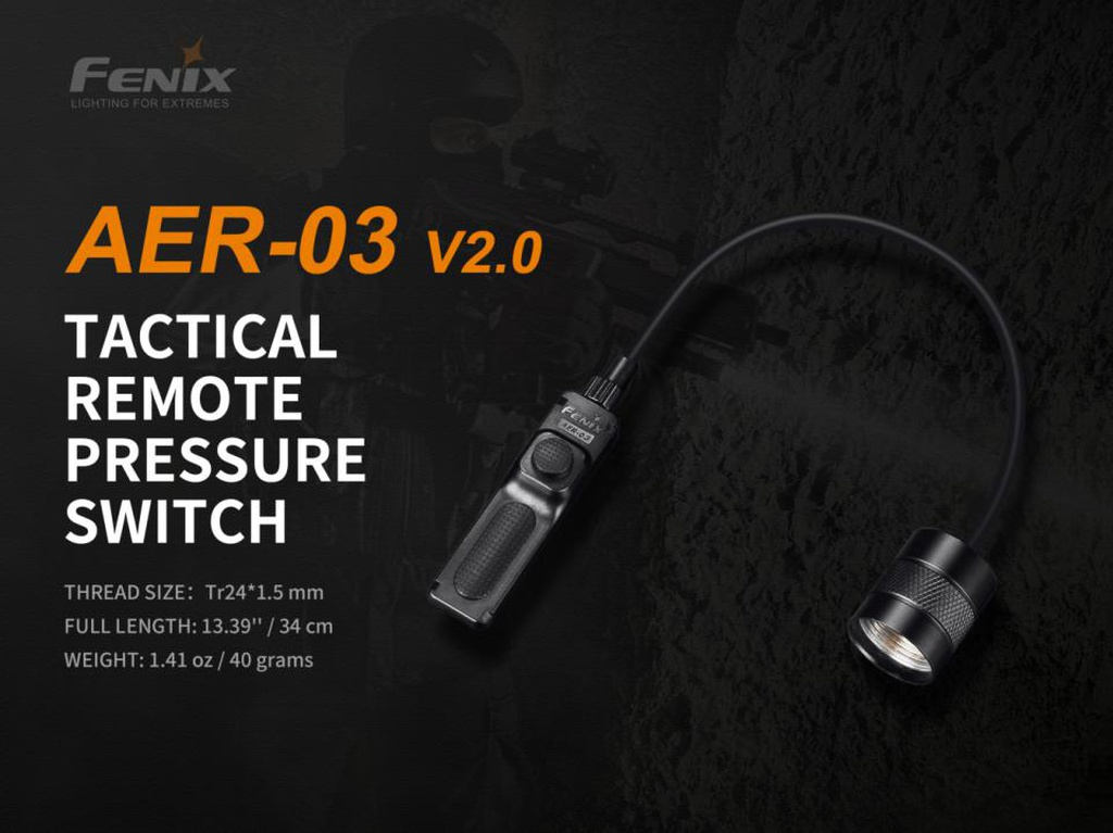 AER-03 V2.0 Tactical Remote Pressure Switch