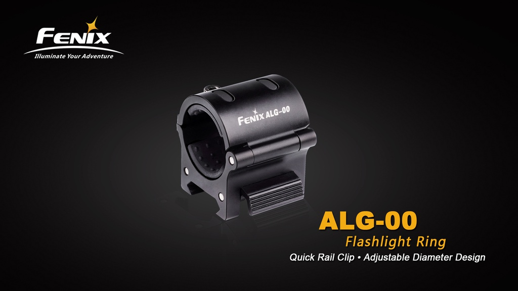 ALG-00 Tactical Flashlight Rail Mount