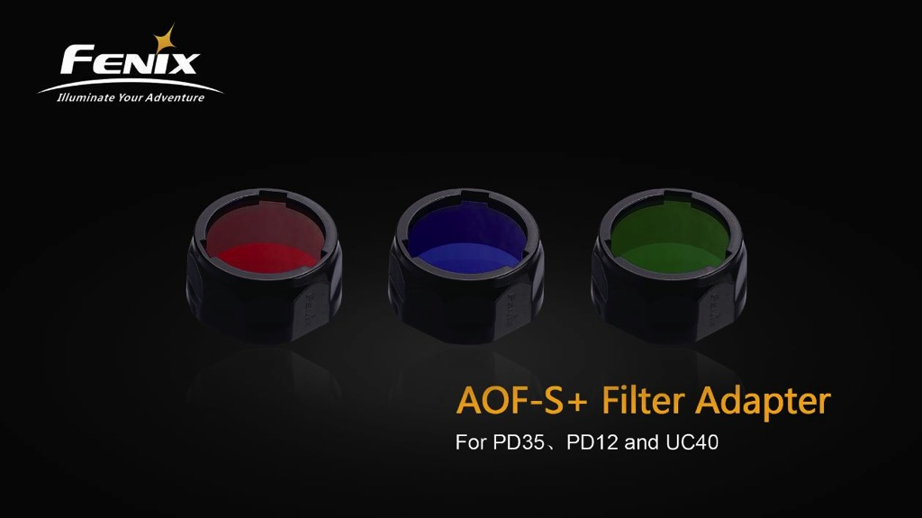 AOF-S+ Filter Adapter Small