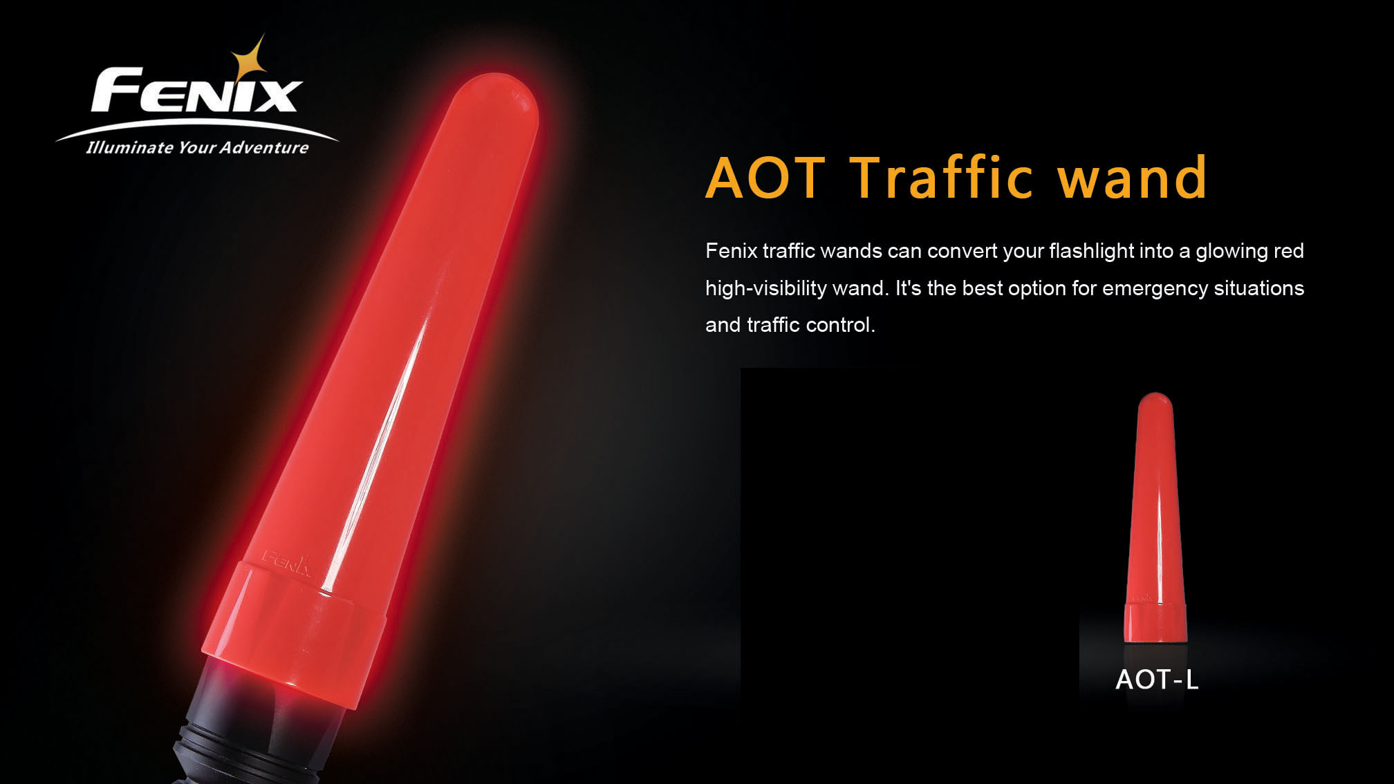AOT-L Traffic Wand Large
