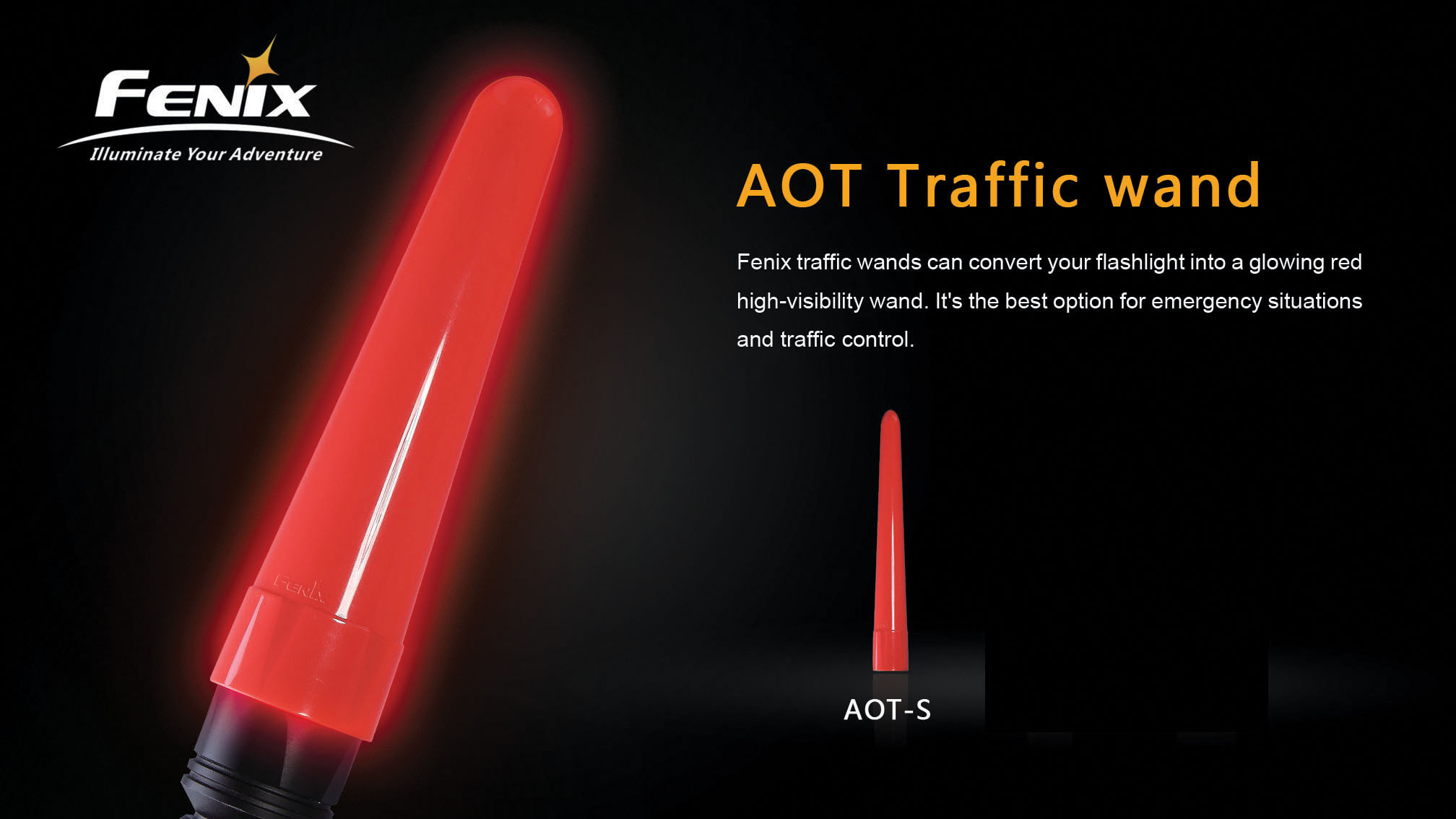 AOT-S Traffic Wand Small