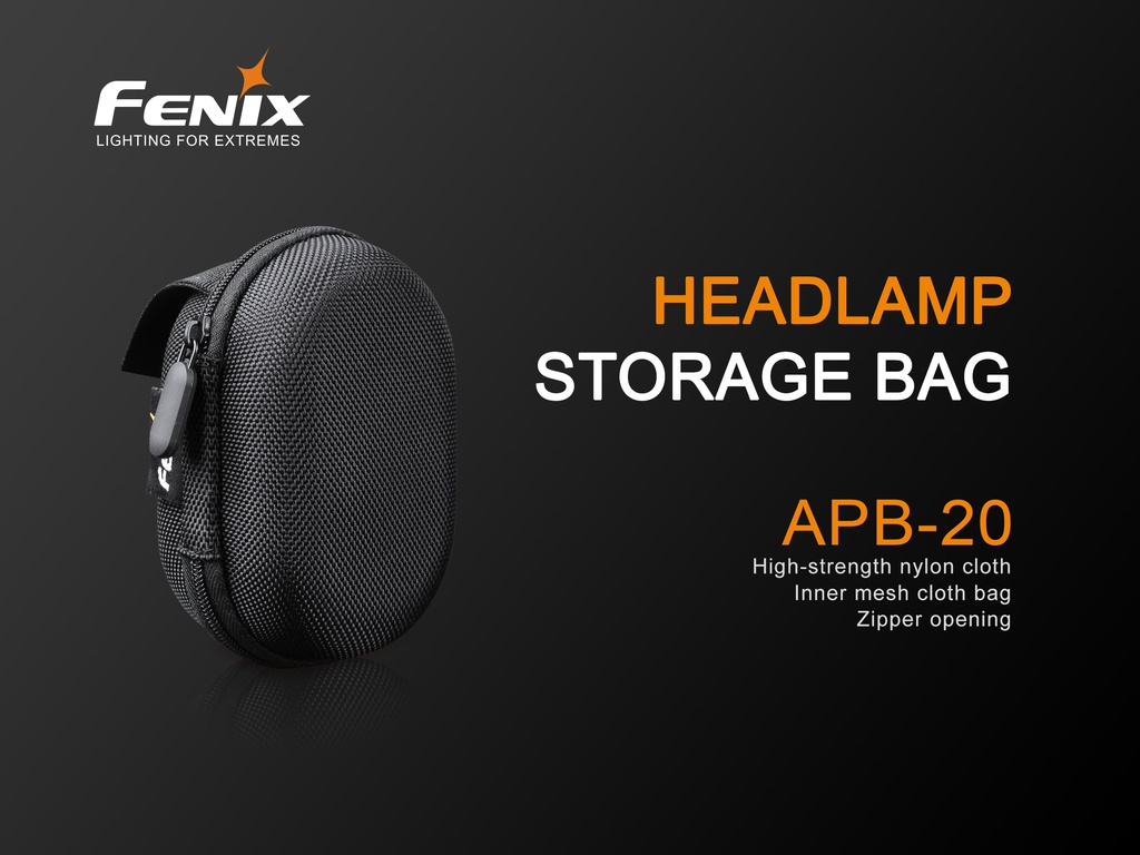 APB-20 Headlamp Storage Bag