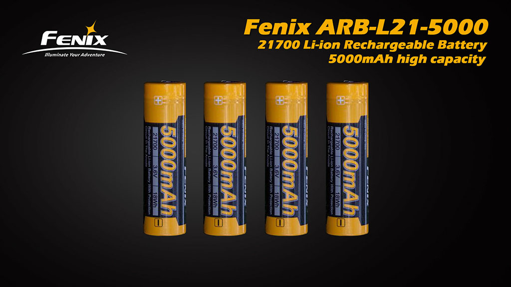 ARB-L21-5000 21700 Li-ion Rechargeable Battery