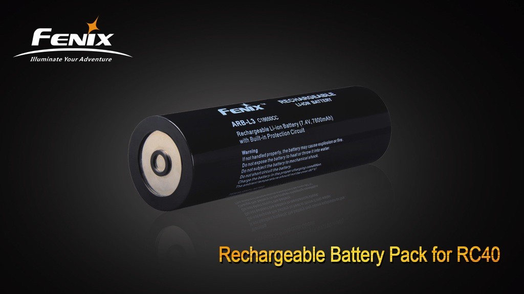 ARB-L3 RC40 Li-ion Rechargeable Battery