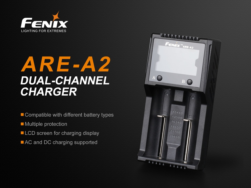 ARE-A2 Smart Battery Charger
