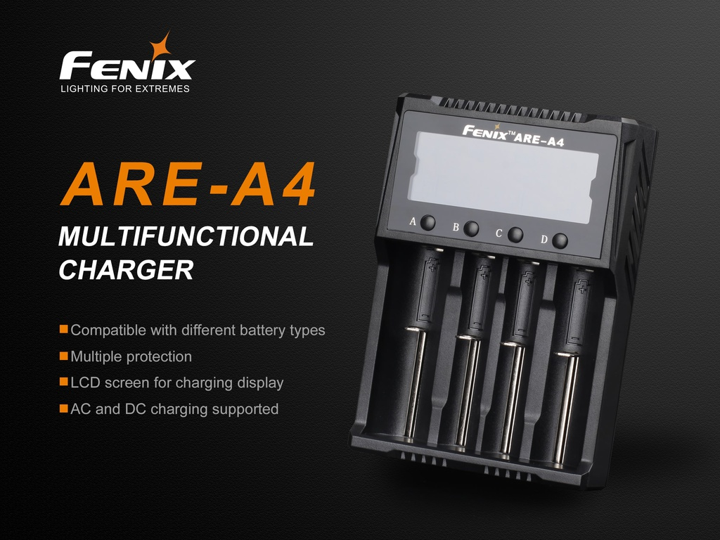 ARE-A4 Smart Battery Charger