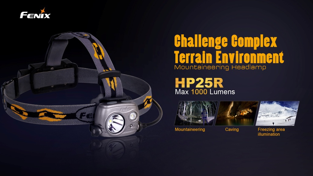 HP25R Rechargeable Spot/Flood Headlamp