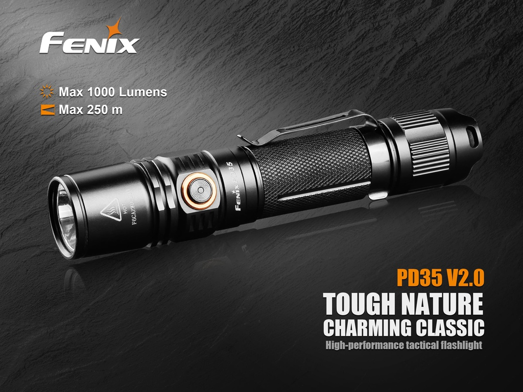 PD35V2.0 Tactical Flashlight