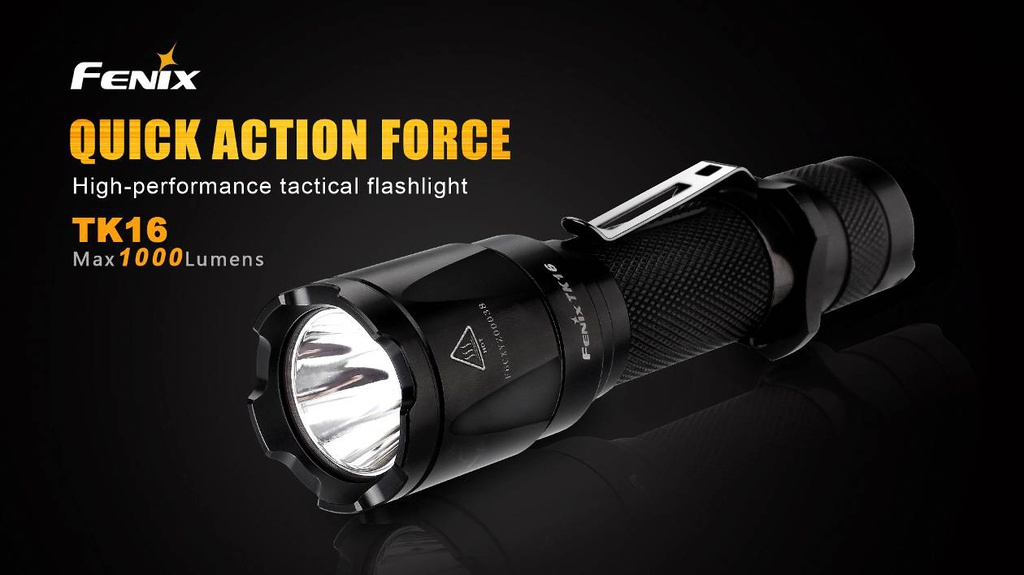 TK16 Instant Strobe Tactical Flashlight