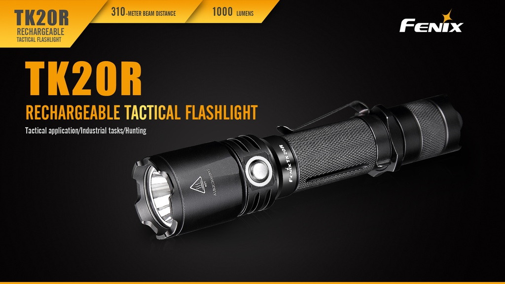 TK20R Rechargeable Tactical Flashlight