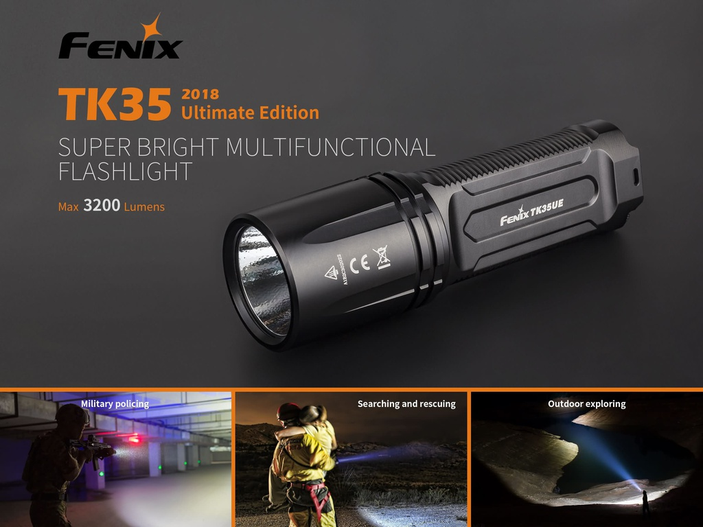 TK35UE Ultimate Edition High-Output Flashlight