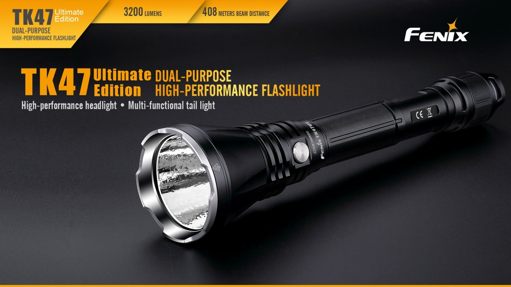 TK47UE Ultimate Edition High-Output Flashlight