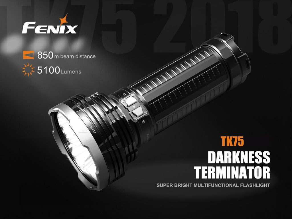 TK75 Long Range Flashlight