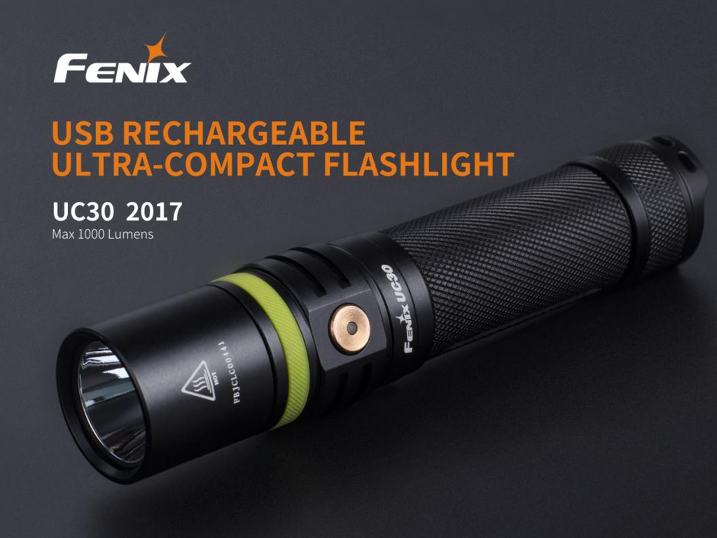 Fenix UC30 Ultra Compact Rechargeable Flashlight